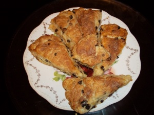 Wonderful scones baked by Gorgeous on 11/13/2014