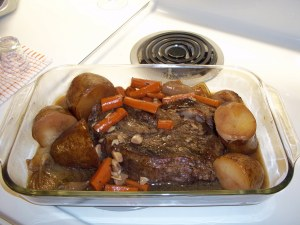 Pot roast.  Bon Appetite.