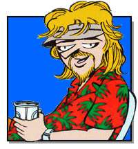 My hero: Zonker Harris.  Source: Doonesbury