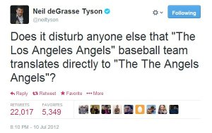 Neil deGrasse Tyson Twitter