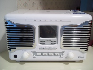 Our new kitchen counter radio