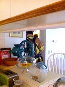 Firemen in Home