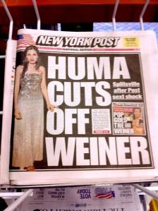 NY Post Weiner