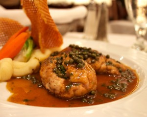 Bon appétit! Cervelle de veau au beurre noir Source: The Washington City Paper