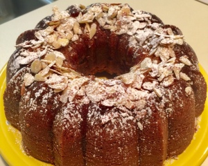 Gorgeous' Rosh Hashanah honey cake