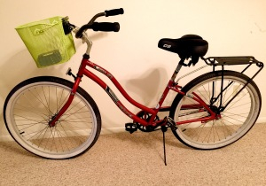 The after bike. Soon removable shopping bags will grace the back
