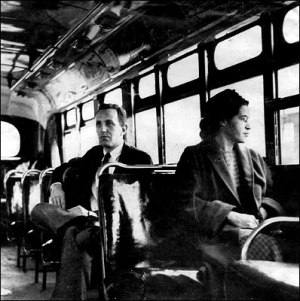 Rosa Parks Source: Wikipedia