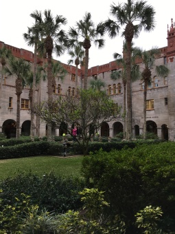 Courtyard of the Lightner Museum