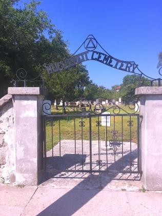 Huguenot Cemetery Gate