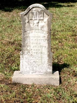 Huguenot cemetery grave